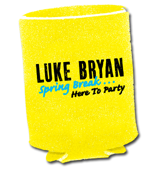 Spring Break Koozie