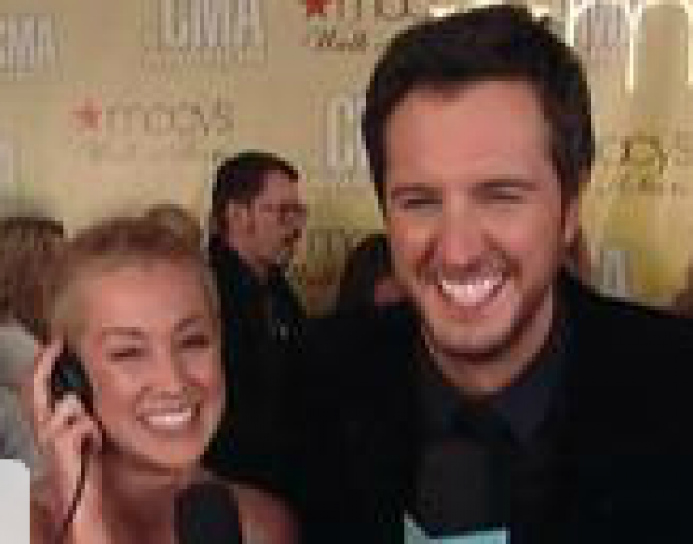Luke Bryan as Red Carpet Correspondent for �The Ellen DeGeneres Show�
