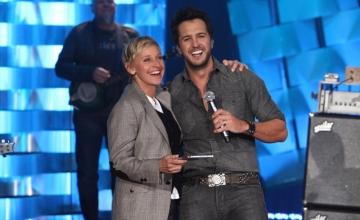 Luke Bryan on Ellen